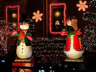Christmas Season in New York - Dyker Heights decorations