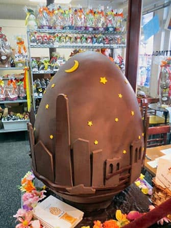 Easter in New York - Chocolate Easter Egg