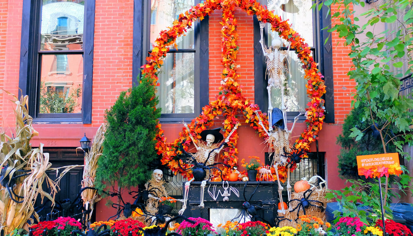 Halloween in new york - Deco maison halloween ...