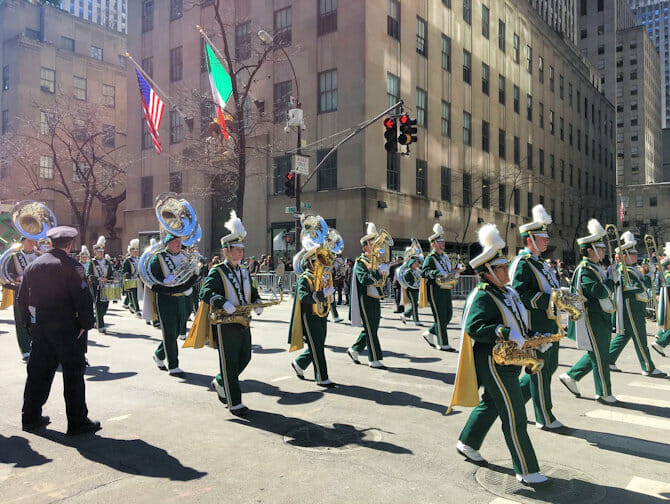 St. Patrick's Parade in New York