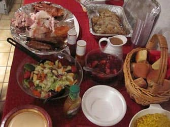 Thanksgiving in New York - Dinner
