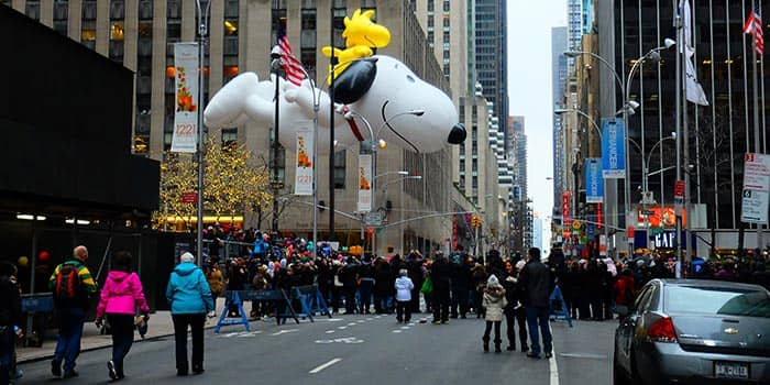 Thanksgiving in New York - Macy's Thanksgiving Parade