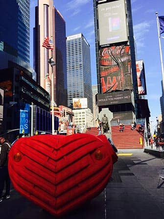 ... Valentineu0027s Day In New York   Times Square