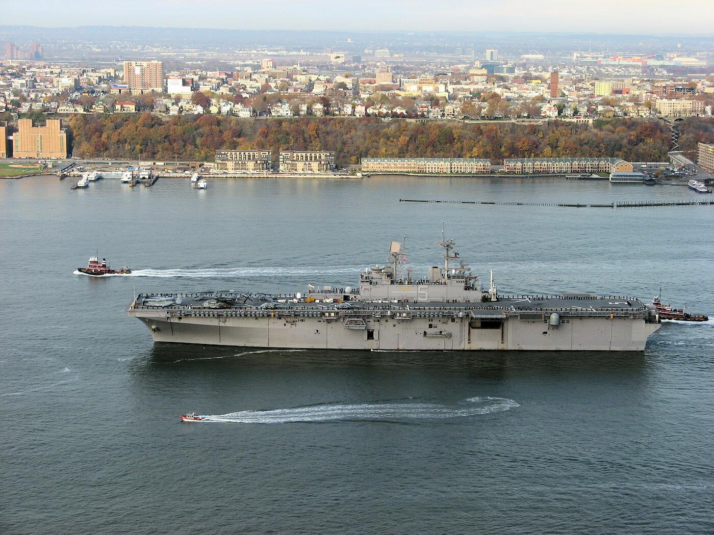 new york city fleet week ship