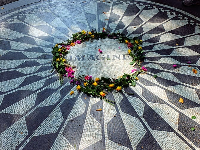 Central Park Movie Sites Walking Tour - strawberry fields