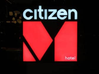 citizenM times square hotel in new york
