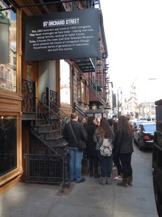 Tenement Museum in New York - tour
