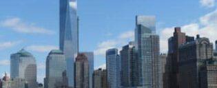 Lower Manhattan in New York