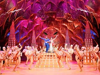 Aladdin on Broadway Tickets - Genie and Aladdin