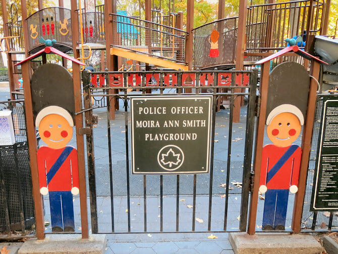 Madison Square Park Playground in New York