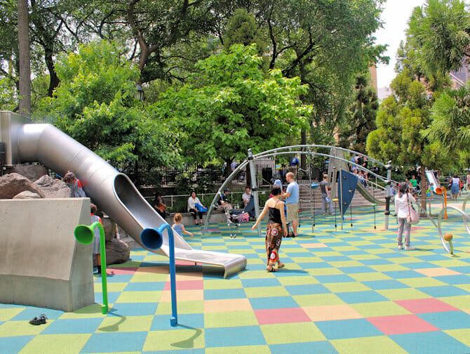 Union Square Playground in New York