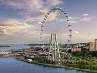 rendering of the new york wheel