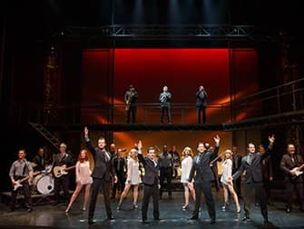 Jersey Boys in New York Tickets - Cast