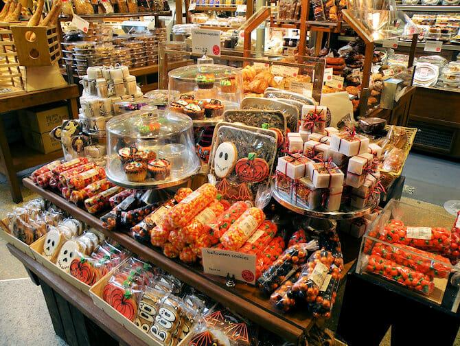 Halloween baked goods in New York