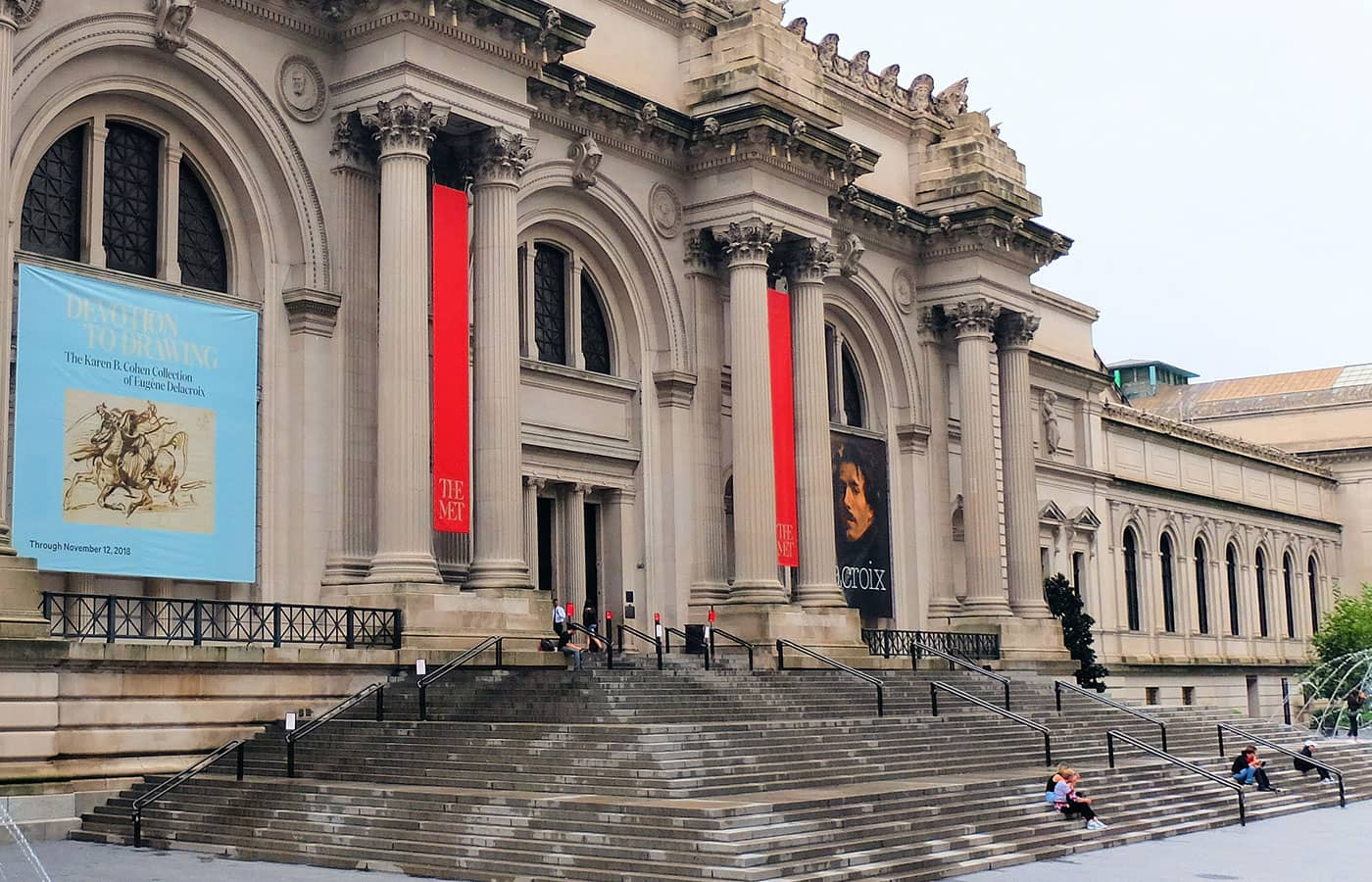 Gossip Girl Tour - Steps of The Met