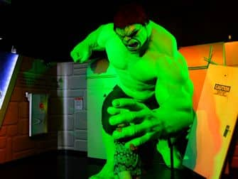 Madame Tussauds in New York - Super Heroes