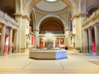 Metropolitan Museum of Art in New York - Empty Met