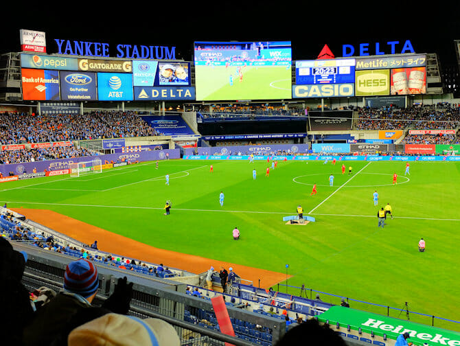 New York City FC Tickets - Yankee Stadium