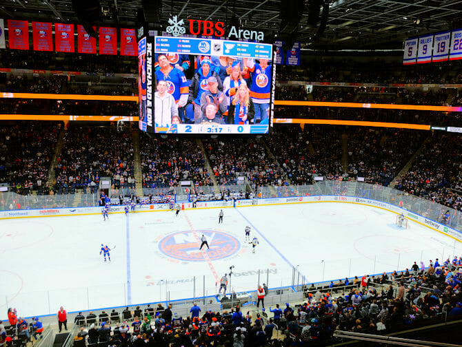 New York Islanders Tickets - Crowd
