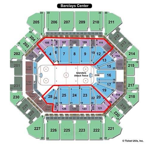 New York Islanders - Seating Chart
