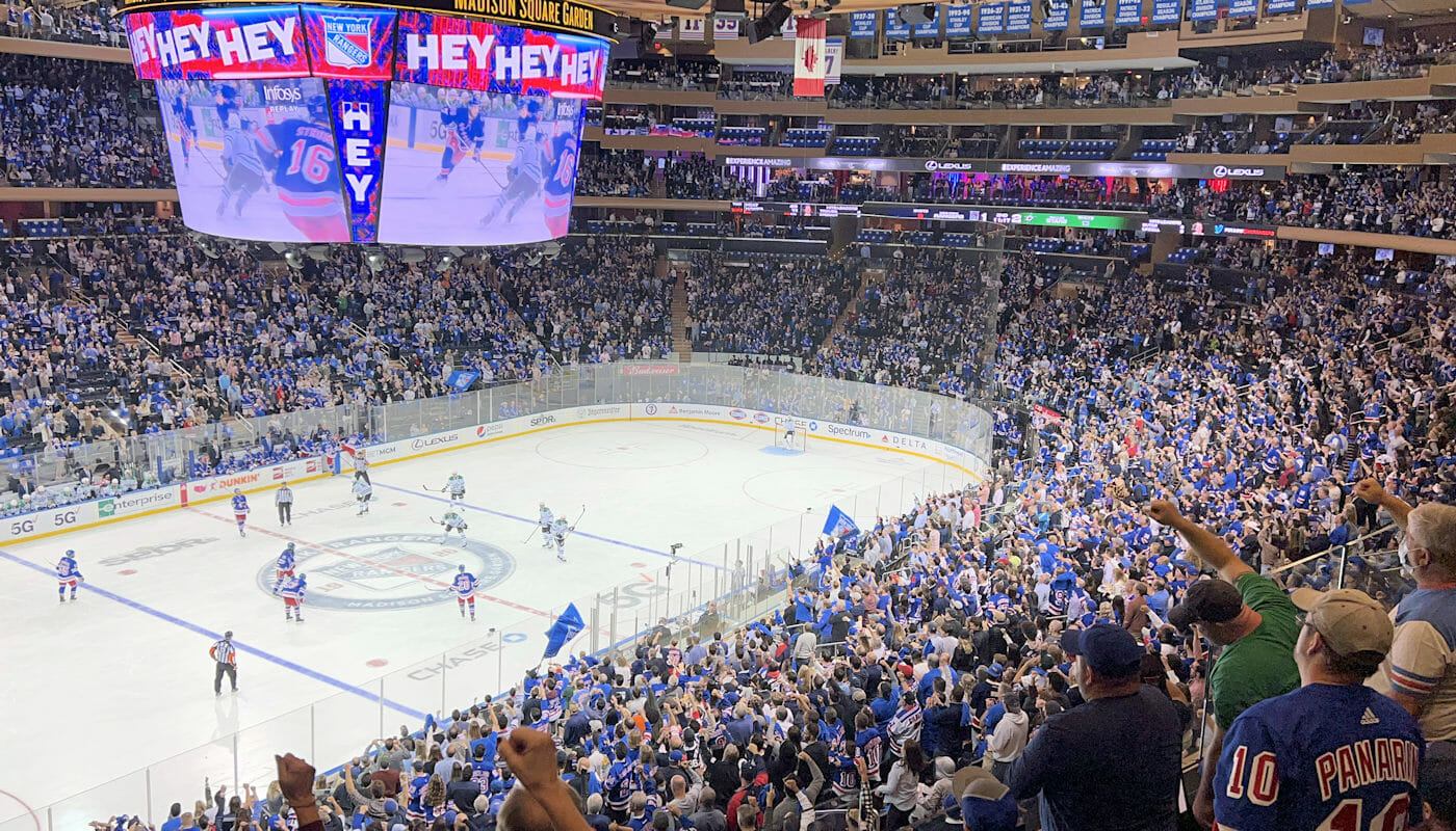 New York Rangers Tickets - Game at Madison Square Garden