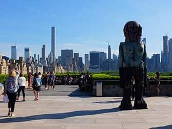 Metropolitan Museum in New York - Rooftop Garden