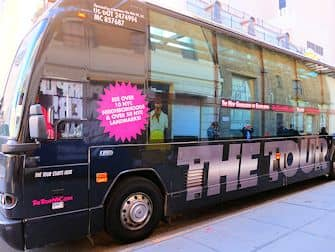 The Ride in New York - The Tour Bus
