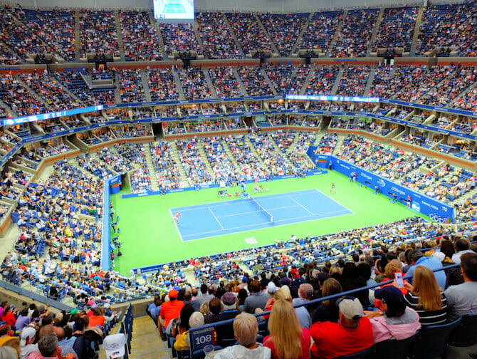 US Open Tennis Tickets - Tennis Match