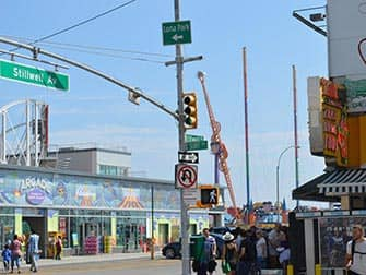 Coney Island in New York - Surf Avenue