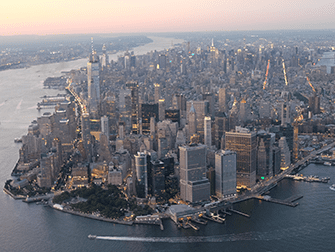 Evening Helicopter Tour and Sightseeing Cruise in New York - Manhattan