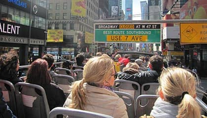 Hop-on Hop-off Bus in New York - Sightseeing bus tour