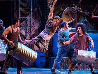 STOMP in New York Tickets - Bins