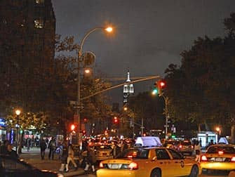 West Village in NYC - Busy Streets at Night