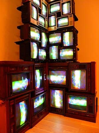 Whitney Museum in New York - Nam June Paik
