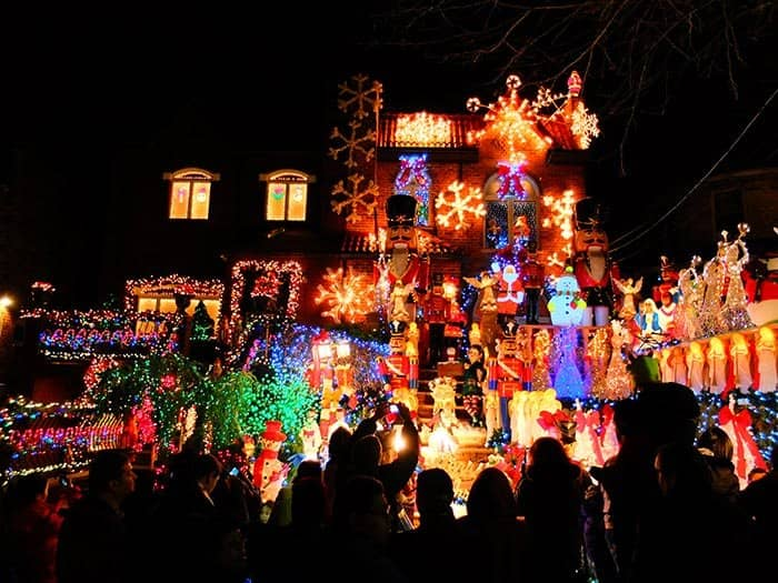dyker heights christmas lights nutcracker posted in tours