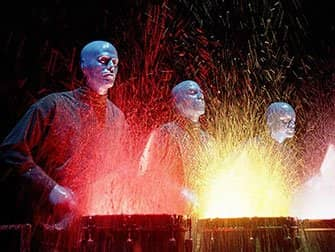 Blue Man Group Tickets in New York - Wet Drums
