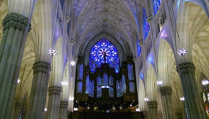 St. Patrick's Cathedral in New York- Interior