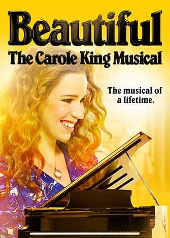 Beautiful The Carole King Musical on Broadway tickets - Poster