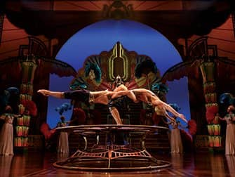 Cirque du Soleil in New York Tickets - Balancing