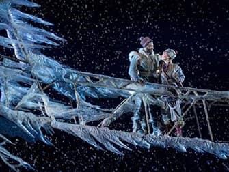 Frozen on Broadway Tickets - Anna and Kristoff