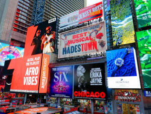 Theater District in New York