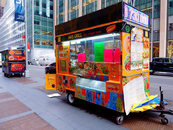 Best Food Trucks Nyc Financial District