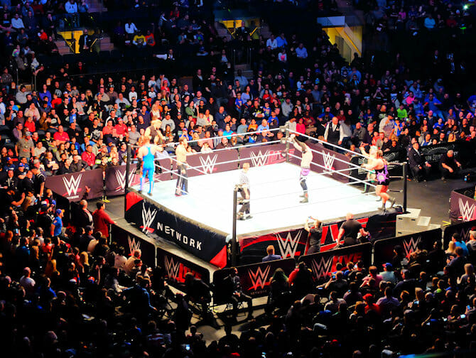 WWE Wrestling Tickets in New York - match
