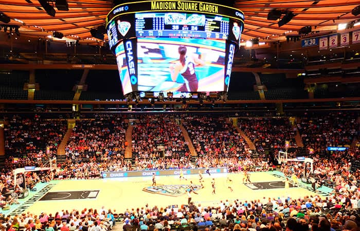 New York Liberty Basketball Tickets - Atmosphere