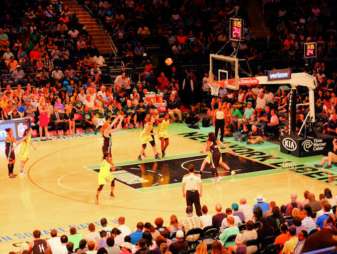New York Liberty Basketball Tickets - Players