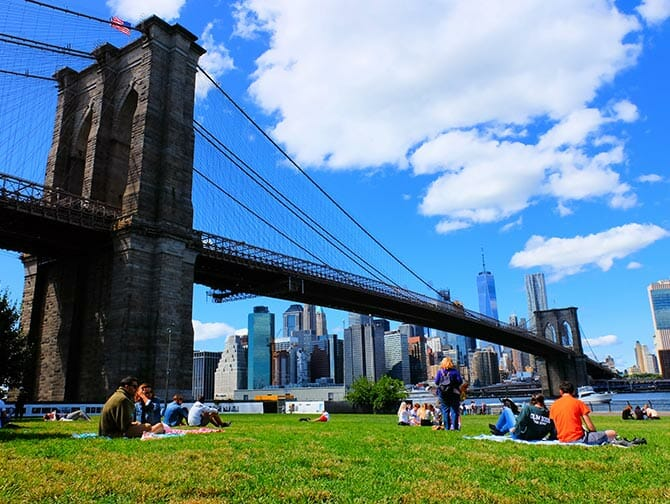 Best Views in New York - Brooklyn Bridge Park