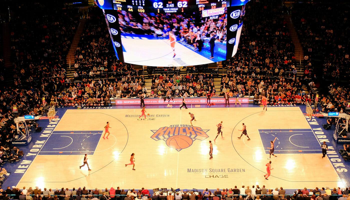 NBA Basketball in New York