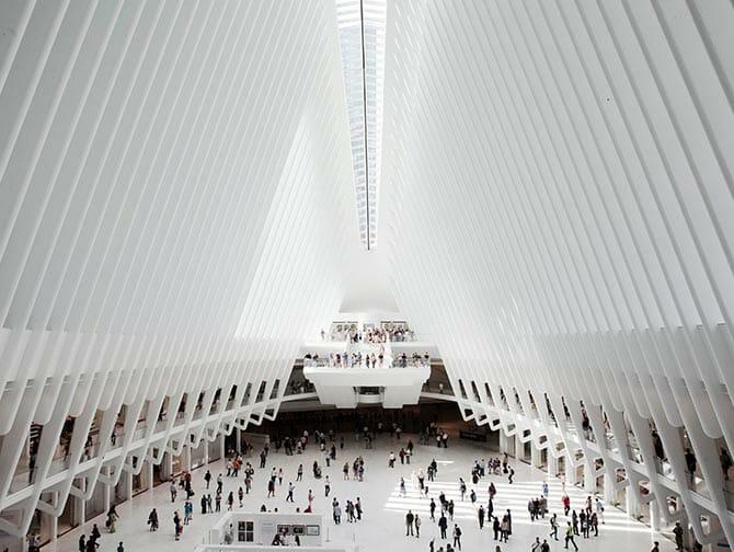 Westfield World Trade Center - Architecture