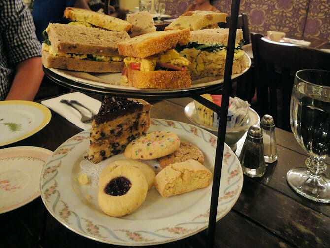 British Food in New York - Alices Tea Cup High Tea