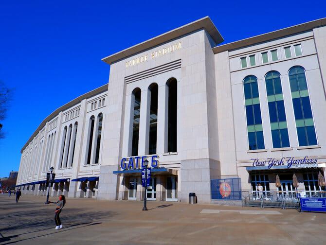 New York on a Budget - Yankees Stadium